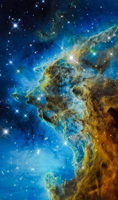 NGC-2174 Hubble  Credit: NASA/Hubble, color/effects thedemon-hauntedworld