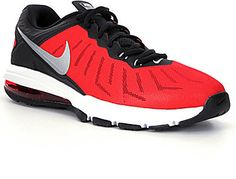 From Nike, the Air Max Full Ride men's training shoes feature: lightweight, breathable mesh upper with stealth structure modern skin construction for stability lace-up closure Nike Max Air in heel for excellent cushioning for explosive movements phylon foam for responsive forefoot cushioning rubber outsole with aggressive, multi-surface Delta node traction pattern Imported.