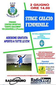 Stage Calcio Femminile a Prevalle http://www.panesalamina.com/2014/25363-stage-calcio-femminile-a-prevalle.html