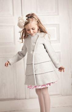 dress patterns for children. Little Girl Fashion, Toddler Fashion, Kids Fashion, Little Girl Dresses, Girls Dresses, Little Girls Coats, Mode Lolita, Kids Dress Patterns, Cool Kids Clothes
