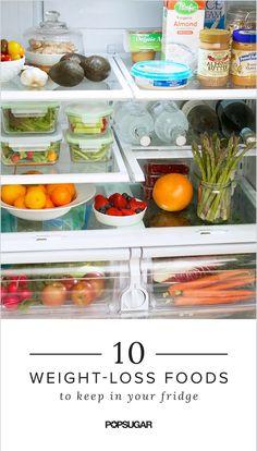 Healthy Foods You Should Have in Your Fridge | POPSUGAR Fitness