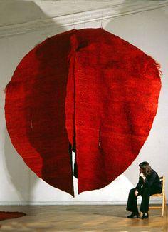 Magdalena Abakanowicz ~ Abakan Red