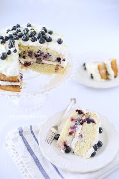 Lemon Berry Cake ... making this SOON even if it is a summery treat