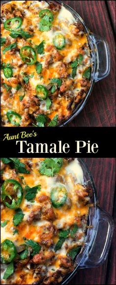 This Tamale Pie is our favorite Mexican casserole ever! I have had so many reque… This Tamale Pie is our favorite Mexican casserole ever! I have had so many requests for this recipe from friends and family, I lost count! Comida Latina, Comida Tex Mex, New Recipes, Cooking Recipes, Easy Recipes, Drink Recipes, Cooking Tips, Freezer Recipes, Freezer Cooking