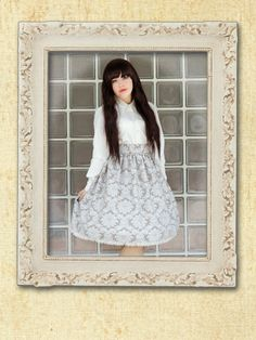 Classic Lolita Skirt by IndrolitaClothing on Etsy