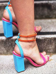The best statement heels to shop! via @WhoWhatWear