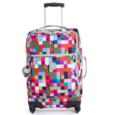 Airline carry-on approved! Darcey Small Wheeled Luggage - #KiplingMakeHappy