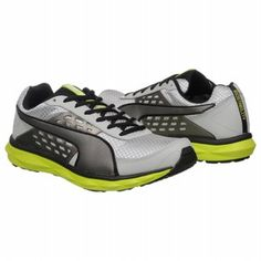 Puma Pumagility Steady Speed Shoes (Grey/Mtlc Dk Grey) - Men's Shoes - 8.5 M