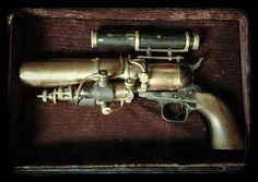 Steampunk Gun – The Kraken Blaster   Clothed Eye