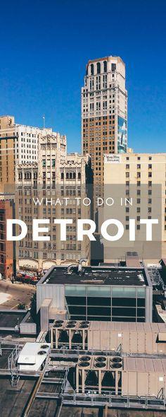 Reiseführer Detroit - die besten Tipps zu Sehenswürdigkeiten und Unternehmungen in Detroit. Was man in der Motorcity machen kann! via @koelnformat