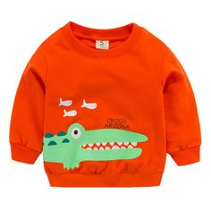 Baby Girl Boy Unisex Clothes Long Sleeve Cartoon Printed