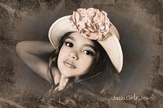 Cadence !!! Love her handmade flower ....