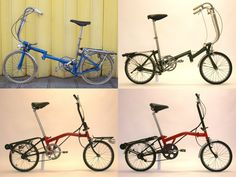 Early Brompton Bicycle 1976 1977 1978 1981