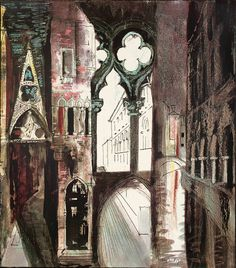 16 New Ideas Urban Landscape Drawing John Piper John Piper Artist, Urbane Kunst, A Level Art, Gcse Art, Environmental Art, Urban Landscape, Art And Architecture, Urban Art, Art Inspo