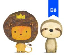 "Check out this @Behance project: ""MR. LION & HIS FRIENDS"" https://www.behance.net/gallery/58317875/MR-LION-HIS-FRIENDS"