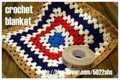 sunny&funny: crochet (ACN) gift-blanket granny  square  FREE pattern