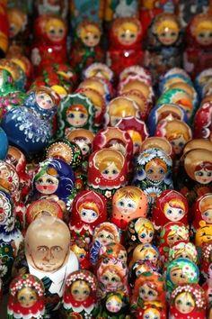 Authentic Russian Matryoshka Doll