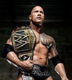 WWE Champion The Rock