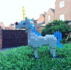 "18 mentions J'aime, 1 commentaires - Roxana Nimplet (@nimplet) sur Instagram: ""#nanoblock #magical #unicorn #weekendfun #kawaii #diy #mini #garden #nanoblockunicorn…"""