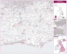 Brighton Postcode Sector Map  http://www.mapsinternational.co.uk/businessmapcentre2013/pcmap-details.php?isbn=UK764