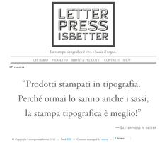 Letterpress is better: letterpress is still alive and makes a great impression.