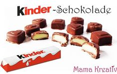 Make children& chocolate yourself from 3 ingredients - Mama Kreativ selber machen ice cream cream cream cake cream design cream desserts cream recipes Easy Baking For Kids, Baking Recipes For Kids, Easy Cake Recipes, Healthy Dessert Recipes, Dessert Simple, Homemade Desserts, Easy Desserts, Macaron, Food Cakes