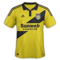 DesignFootball - Category: Football Kits - Image: NAC Breda Home