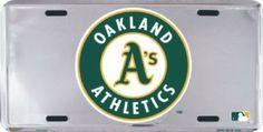 Oakland Athletics  MLB  License Tag Plate Sign #Athletics #OaklandAthletics