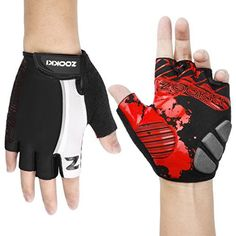 Zookki Cycling Gloves Mountain Bike Gloves Road Racing Bicycle Gloves Medium NWT