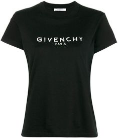 Givenchy blurred logo T-shirt