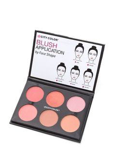 Wanna live in a world full of color and life? Start with your face and this blush palette!