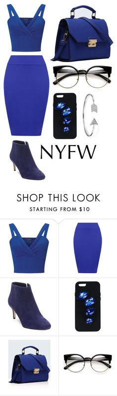 """blue"" by cindyvirgantari on Polyvore featuring Miss Selfridge, WearAll, Via Spiga, STELLA McCARTNEY, Relaxfeel, Bling Jewelry and NYFW"