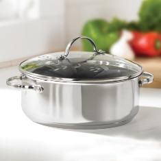 Stainless Steel Nonstick 4 quart casserole SALE $69.95 Click on picture for more details.