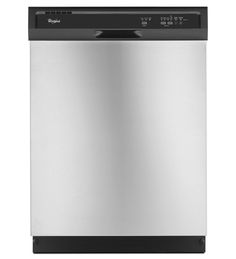 Standard Dishwasher (upgraded stainless steel finish) - ENERGY STAR® Qualified Dishwasher With A Soil Sensor