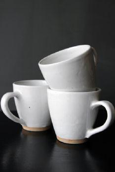 Beautiful White Ceramic Mug