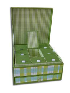 Treasury with drawer and small compartments Outdoor Chairs, Outdoor Furniture, Outdoor Decor, Floor Chair, Drawers, Boxes, Flooring, Handmade, Home Decor