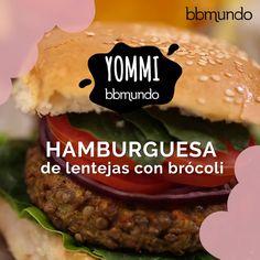 Hamburguesas vegetarianas con brócoli - So Tutorial and Ideas Quiche Recipes, Veggie Recipes, Vegetarian Recipes, Cooking Recipes, Healthy Recipes, Free Recipes, Tasty Videos, Food Videos, Easy Healthy Breakfast