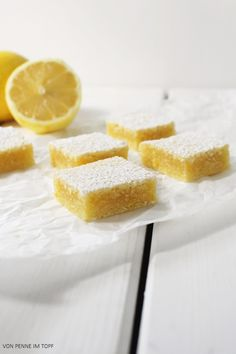 Penne im Topf: Lemon Brownies