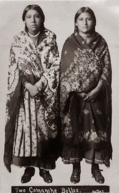Historic Pictures of Comanche Indian Women