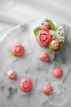 How to make buttercream tulips