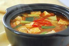 Korean soybean paste stew