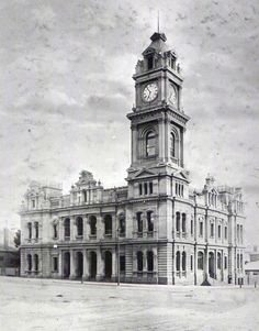 Geelong Post Office: cnr Ryrie and Gheringhap Streets [4th]