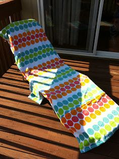 beach chair cover student desk and set tutorial make a from towel sewing pinterest i m re posting my that originally posted on mommomwheel blog never kept