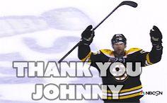 Thank you Johnny Boychuk Boston Bruins Hockey, A Team, Nhl, Hot Guys, Gifs, Water, Sports, Black, Gripe Water