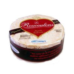Roucoulons - Roucoulons is the pasteurized milk version of Camembert. Rich, creamy and an earthy touch to it, this cheese can be eaten in several ways. It is nearly impossible to find in the US. This cheese matures for 2 weeks before it is ready.