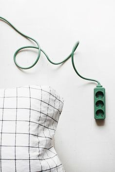 Green extension cord by Johtoi. Photo by Susanna Vento.