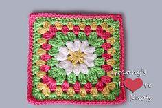 Ravelry: Daisy Mae 6 Inch Square pattern by Pam Stinnett