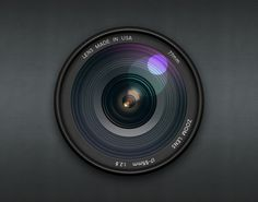 Realistic Camera Lens by Chris Farina