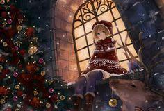 anime christmas wallpaper - Google Search