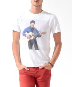 Elvis Photo Tee | 21 MEN - 2021839642